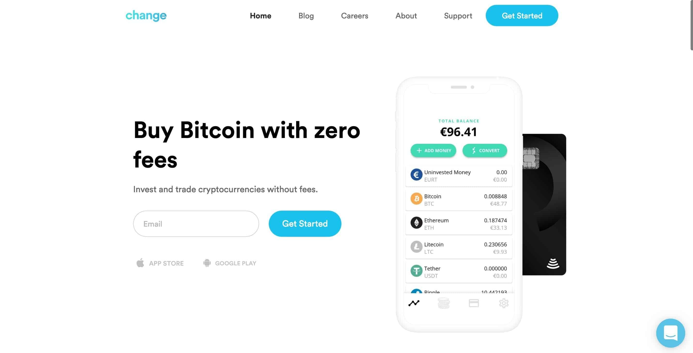 Change Bank Crypto Friendly - GuerrillaBuzz