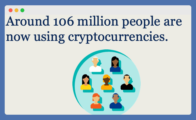 Total Users of CryptoCurrency