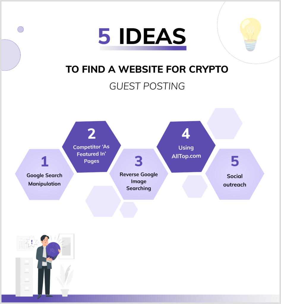 5 ideas to find a crypto guest post opportunity